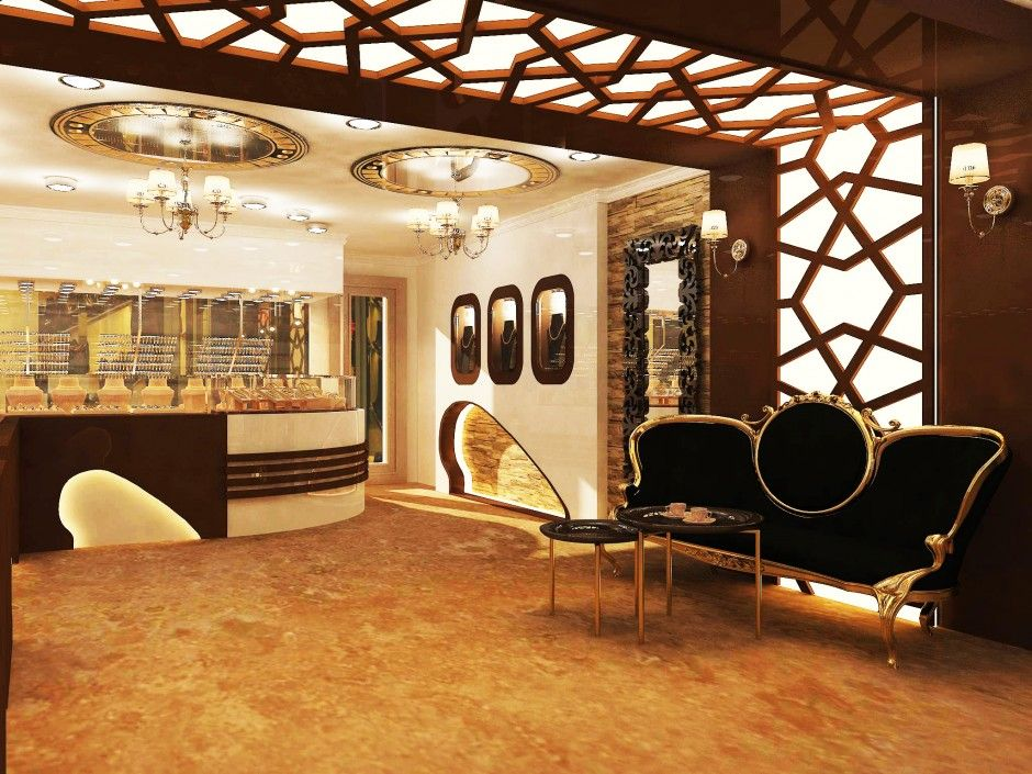 Image result for modern jewelry store interior