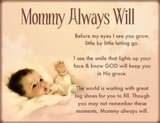 For My Baby Girl On Her First Birthday Mommy Loves You Baby