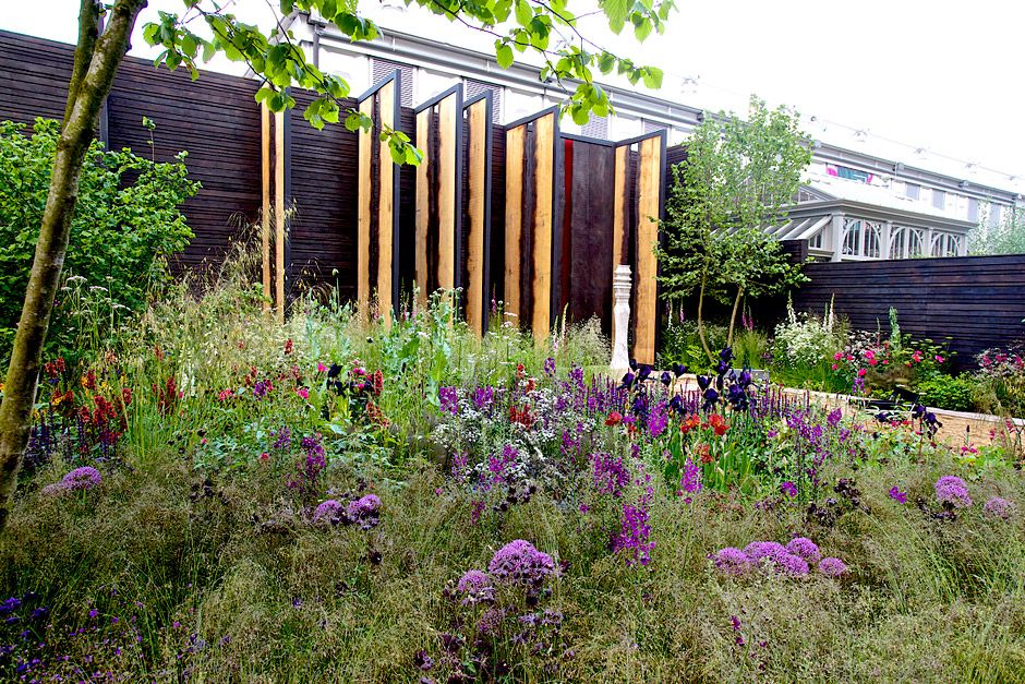 the cloudy bay show garden at the rhs chelsea flower show 2014 rhs gardening