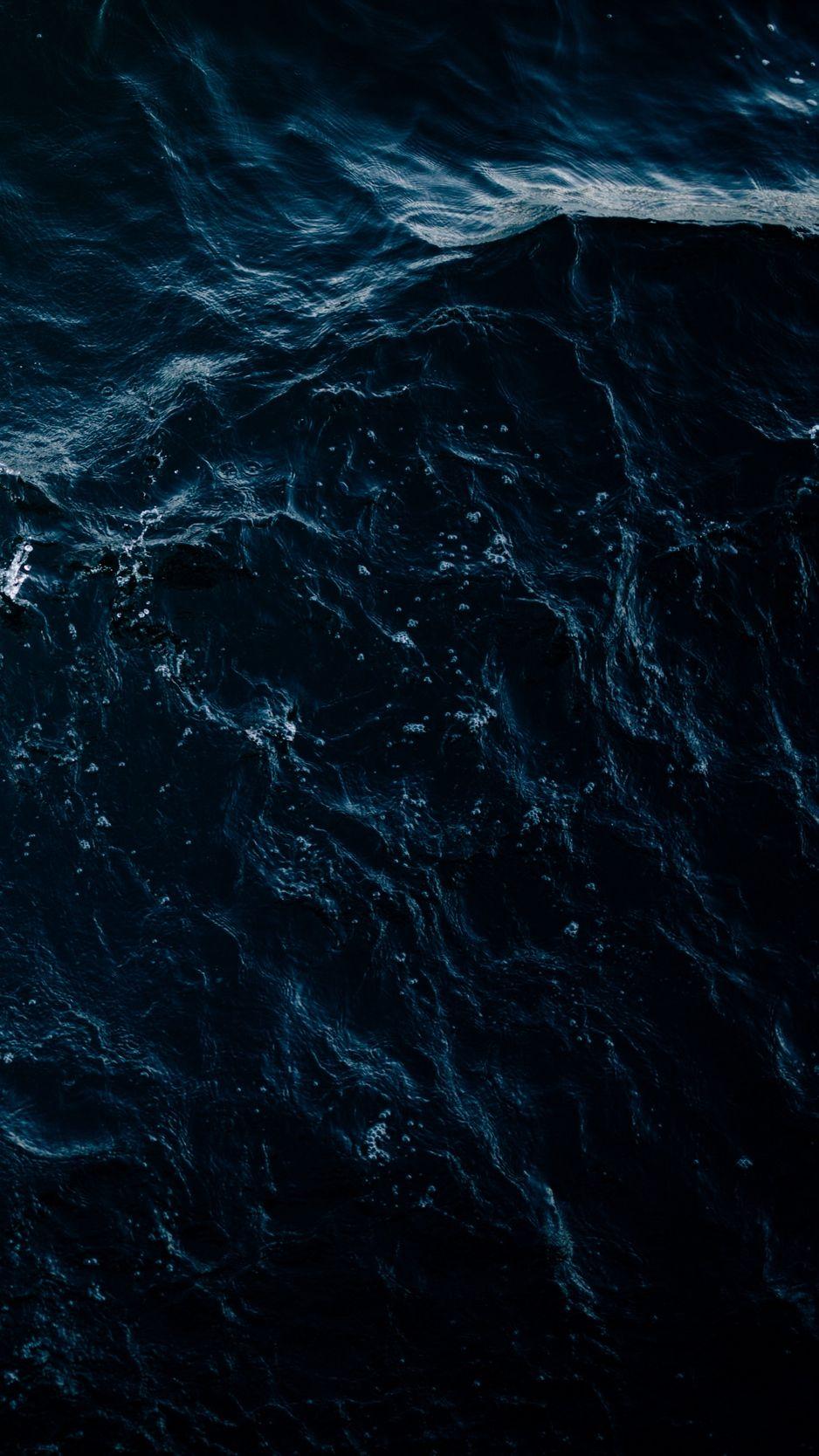 Sea Waves Splashes Dark Wallpaper Background Iphone Ocean Wallpaper Dark Wallpaper Iphone Dark Wallpaper