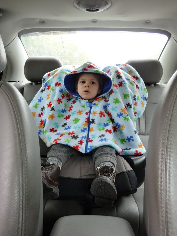 How To Make A Child Cape Or Car Seat Poncho Pdf