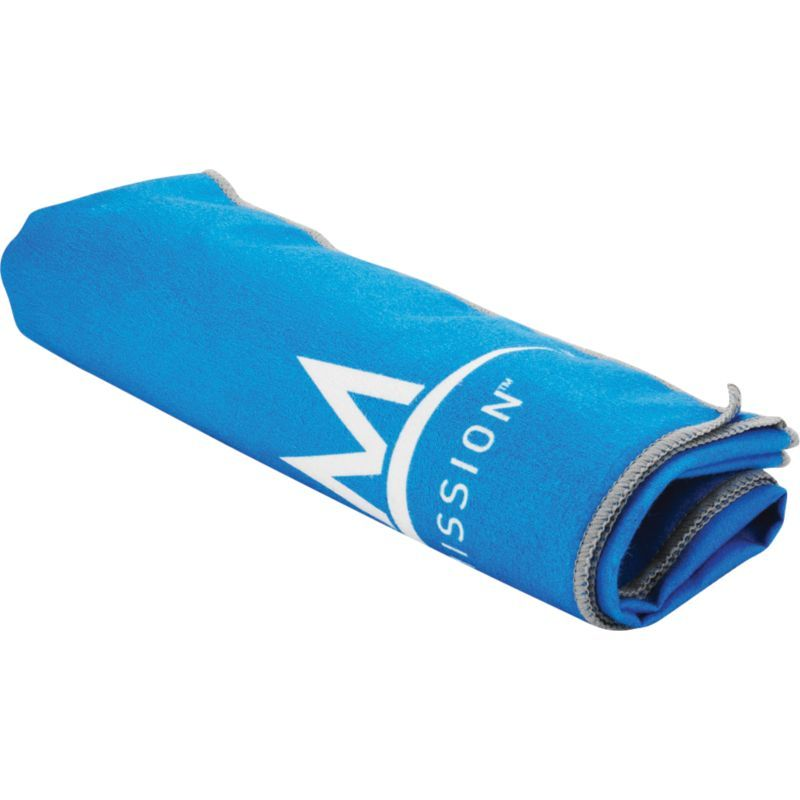 Mission Enduracool Instant Cooling Towel Blue Towels Gym Towel Workout Accessories