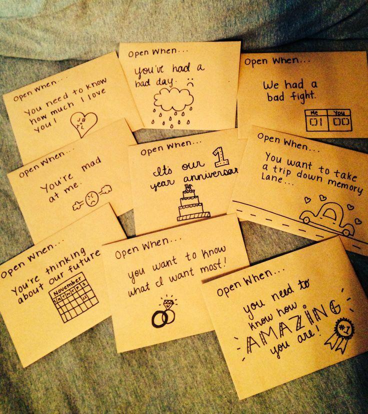 Open When  Letters For The Boyfriend Bestgfaward  Eh