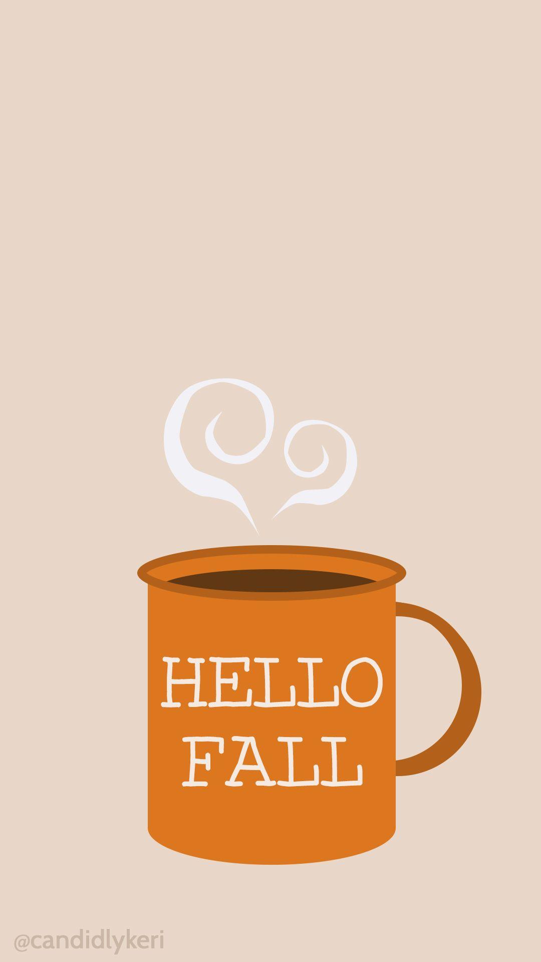 Hello Fall mug cute fall wallpaper 2016 wallpaper you can ...   Cute Fall Blog