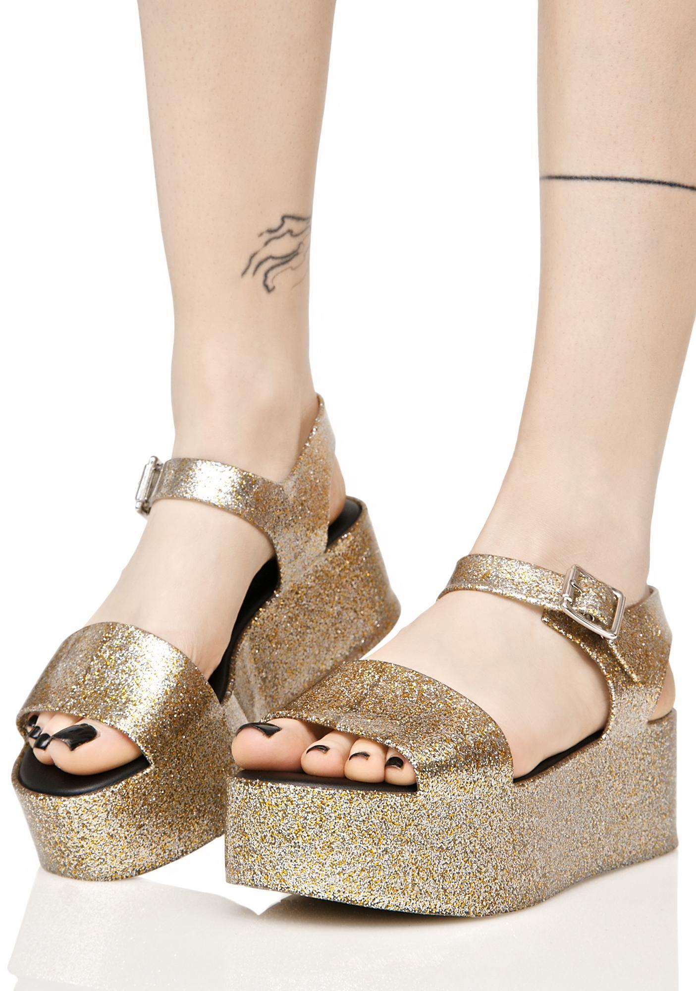 a7623c98c6df Melissa Glitter Mar Sandals cuz you gotta sparkle