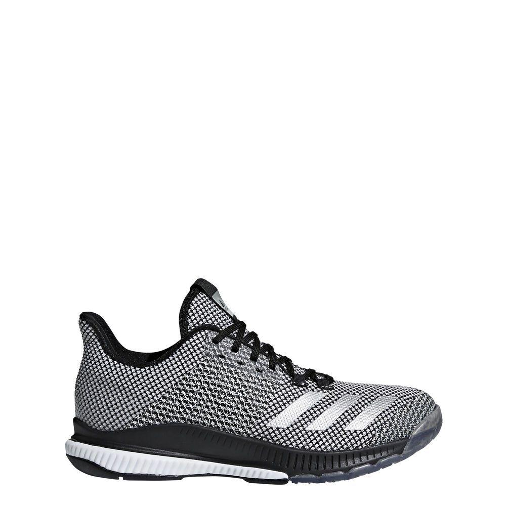 Adidas Women S Crazyflight Bounce 2 Volleyball Shoe Black Silver Metallic White Fashion Clothing Shoes A Volleyball Shoes Trending Shoes Light Weight Shoes