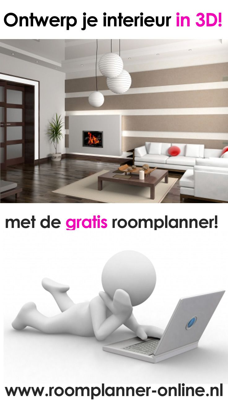 Ontwerp je interieur in 3D met de gratis roomplanner #interieur ...