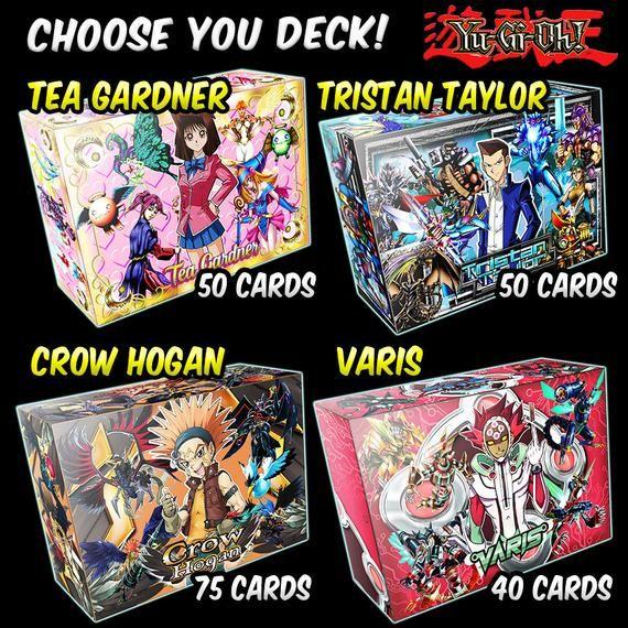 Decks Yugioh Orica Anime Yugi, Joey, Kaiba, Dartz, Jaden