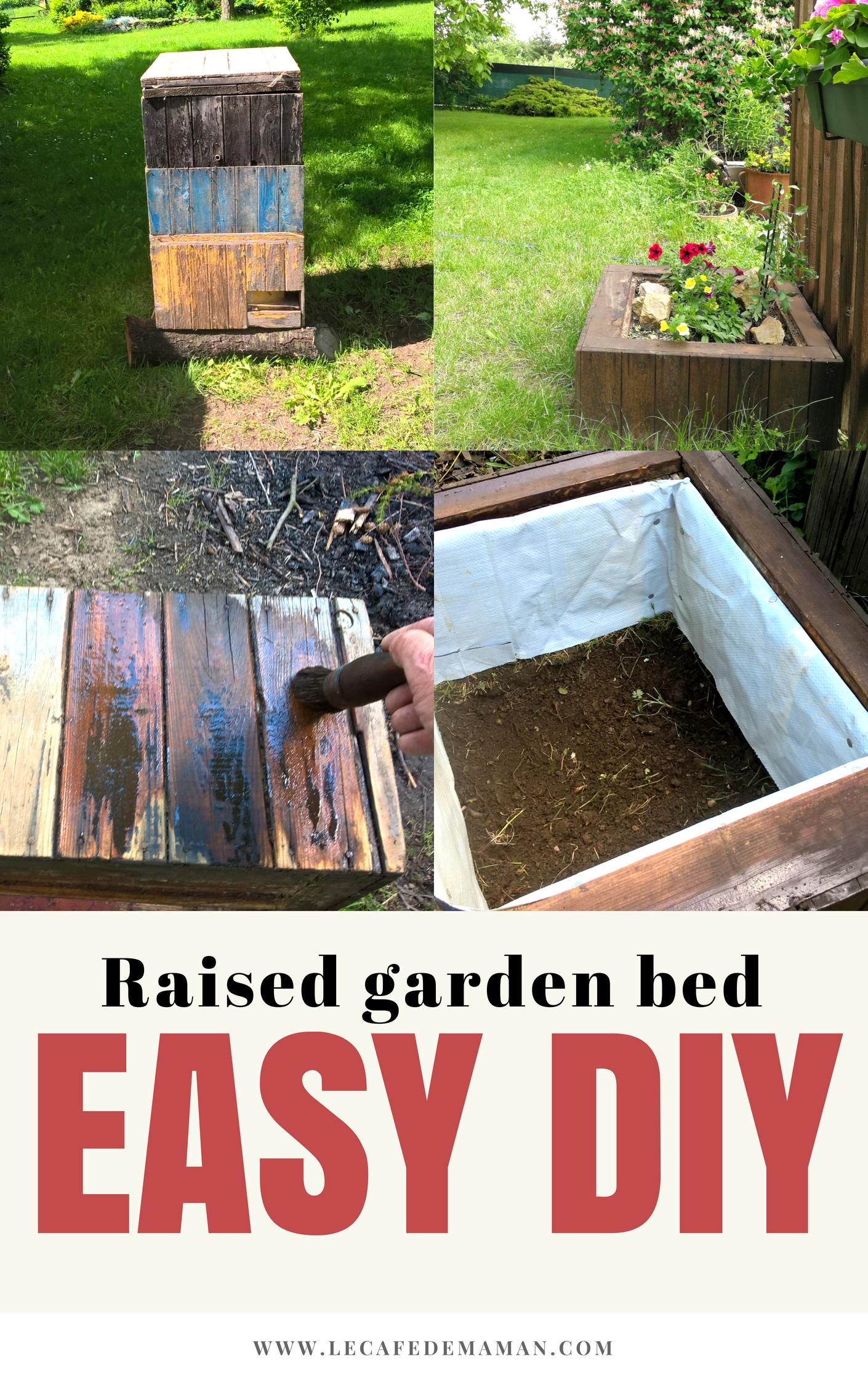 Diy Raised Garden Bed For Flowers