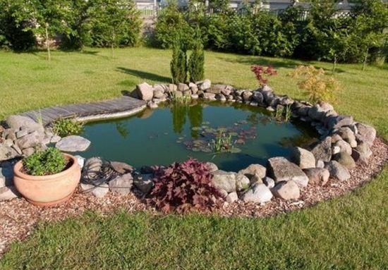 Como-hacer-un-estanque-en-casa.jpg (550×383)   estanque   Pinterest ...