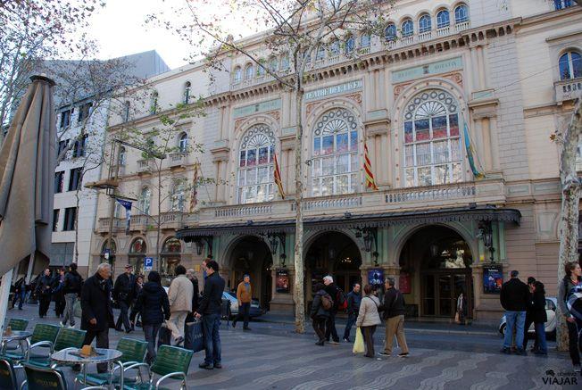 Gran Teatre Del Liceu Rambla Dels Caputxins Barcelona The Liceu Opera House Rambla Dels Caputxins Barcelona Barcelona Torre De Babel Ciudades