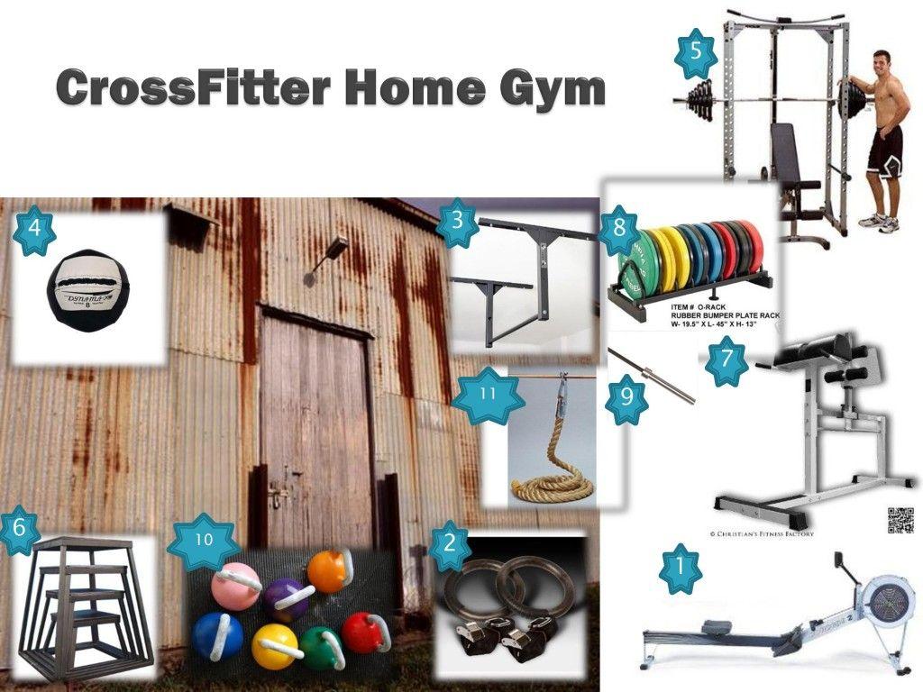 Crossfit home gym dream pinterest en casa