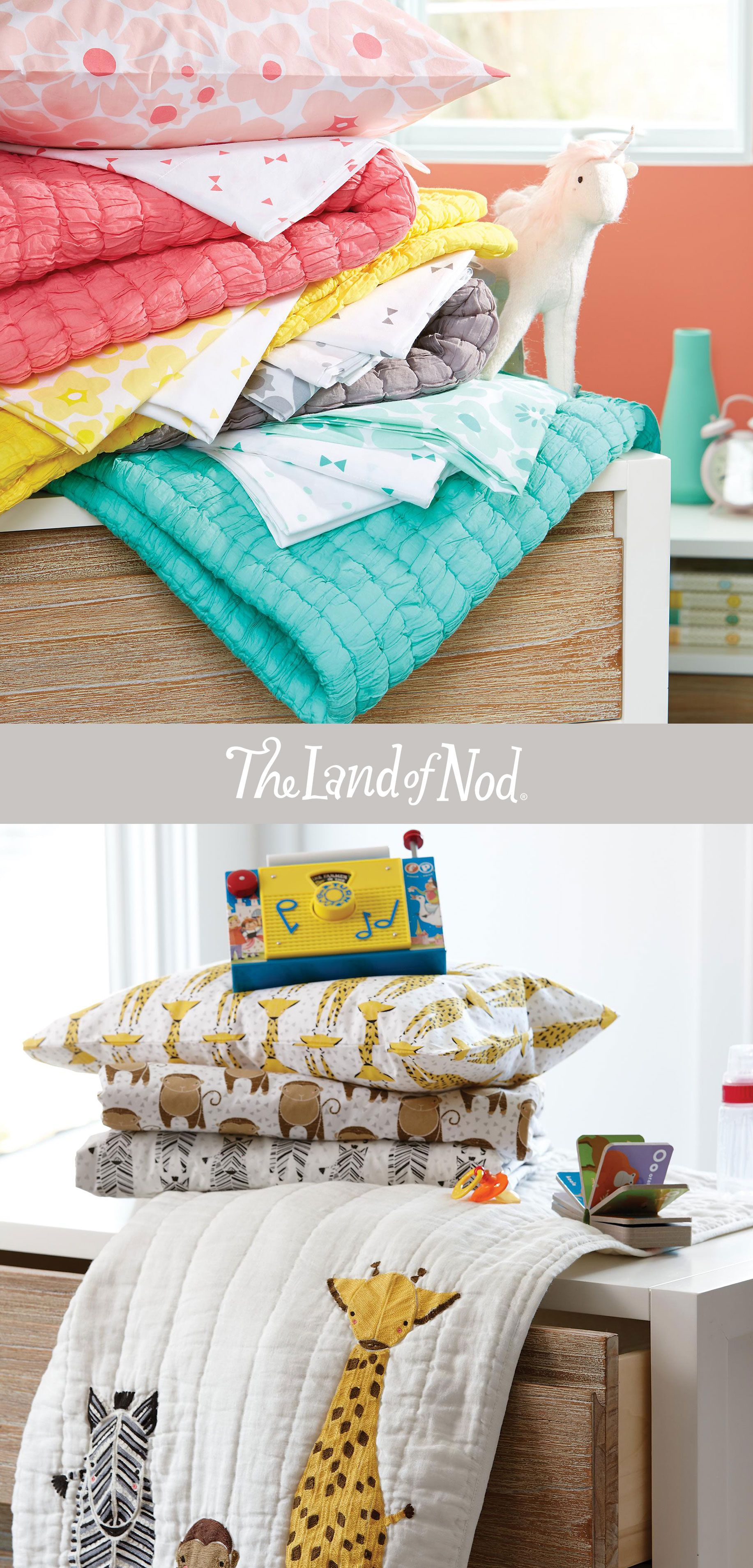 Finish Your Kids' Bed With A Flourish With The Land Of Nod
