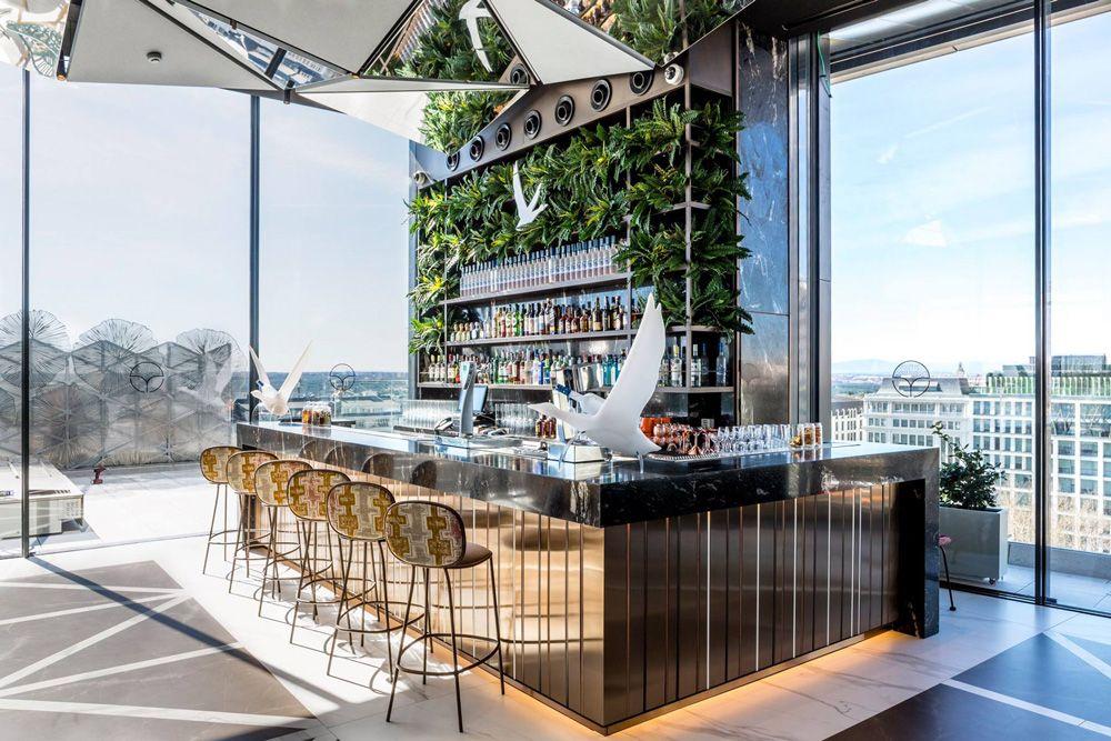 Azotea Del Hotel Generator Madrid Sky Bar Rooftop Bar
