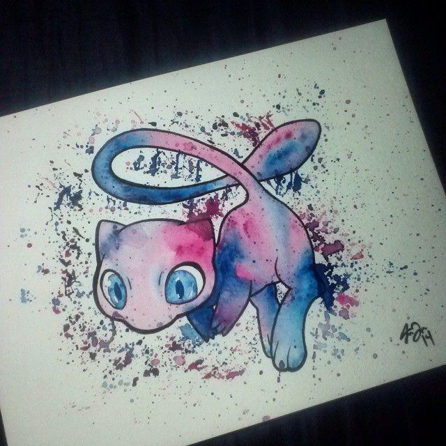 Goodmorning IG. Heres some more #pokemon art I made last night using #acrylic…