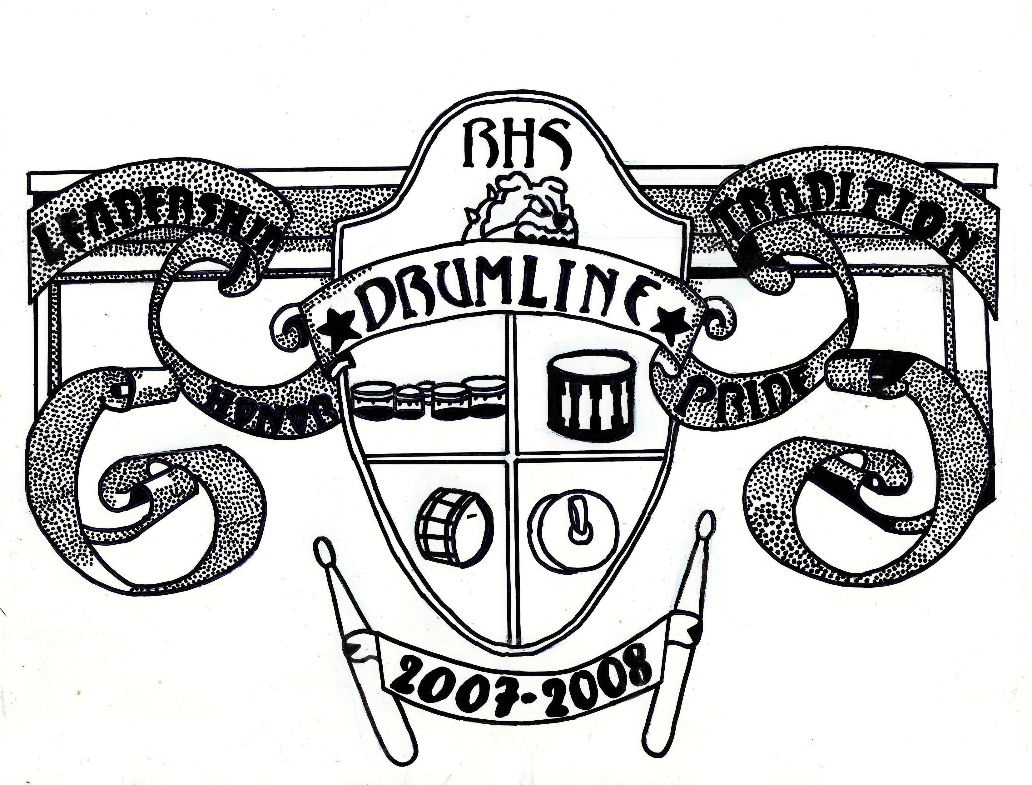 Romeo High School Drumline Shirt 2007