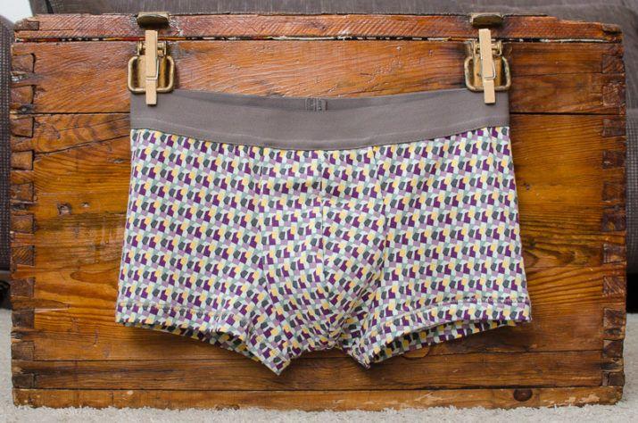 Kostenloses Schnittmuster: Herren-Unterhose LeRetro #clothpatterns
