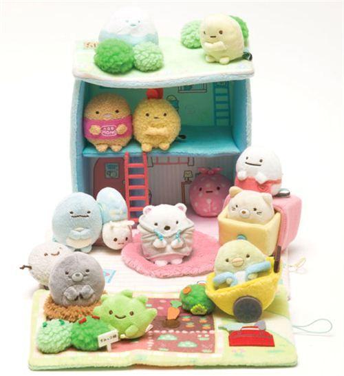 Sumikkogurashi cutlet tapioca home plush toy doll's house box - Plush Toys - Stationery - kawaii shop modeS4u