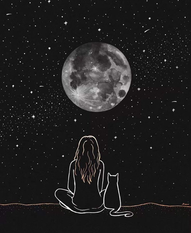 Pin by Alexandria Kircher on tickles my aesthetic in 2019 | Moon art, Art, Illustration art https://www.pinterest.com/pin/565905509427766362/sent/?sfo=1&sender=233694805572453268&invite_code=157d704f094741c3be023b043b9e5573