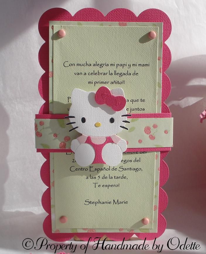 Hello Kitty Invitation …