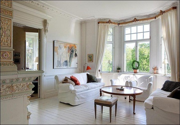 20 Beautiful Living Room Designs With Bay Windows Window Treatments Living Room Bay Window Living Room Living Room Windows