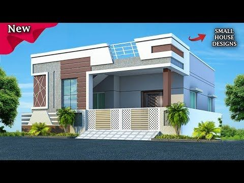 2k19 Beautiful Small House Front Elevation Design Ground Floor Elevation Ideas Youtube House Elevation Front Elevation Designs Small House Elevation