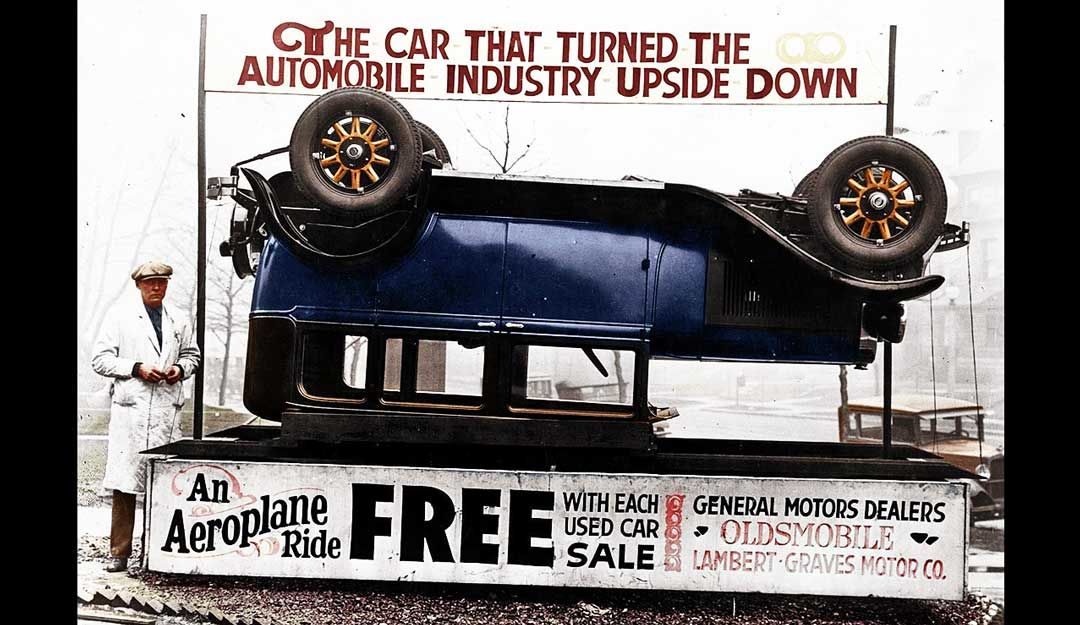 Car Sales Turned Upside Down Free Aeroplane Rides (With