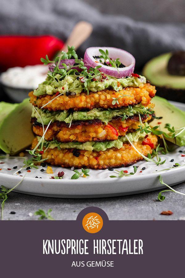 Photo of Recipe for crispy millet thaler (vegan)