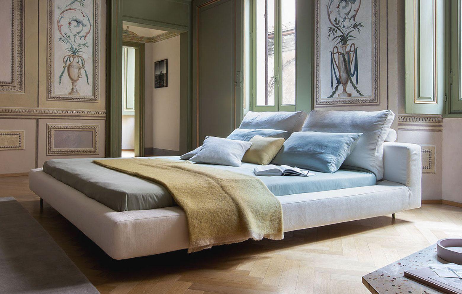 Italienisches Design Aus Dem Hause Bonaldo Das Bett Owen Ist Ein