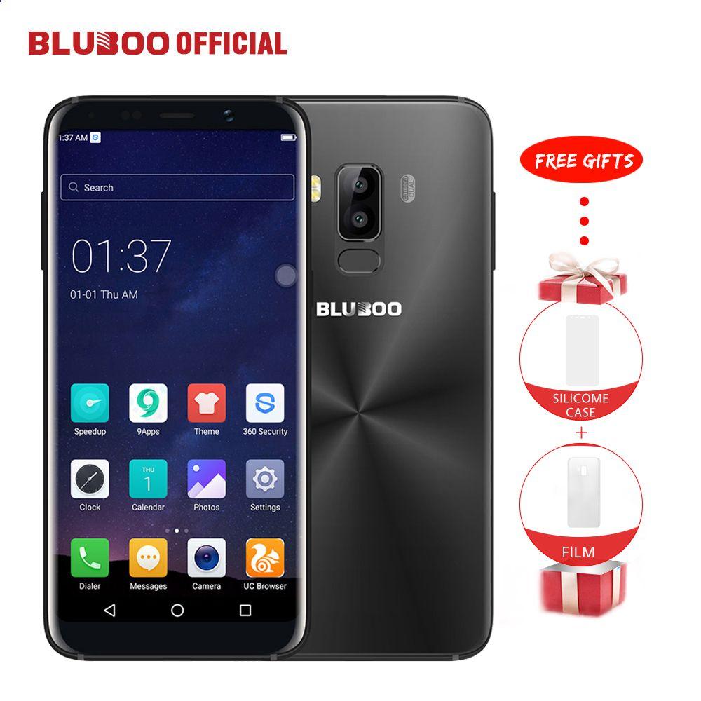 bluboo s8 5.7 '' 4g smartphone 18: 9 full display 3 gb ram 32 gb rom