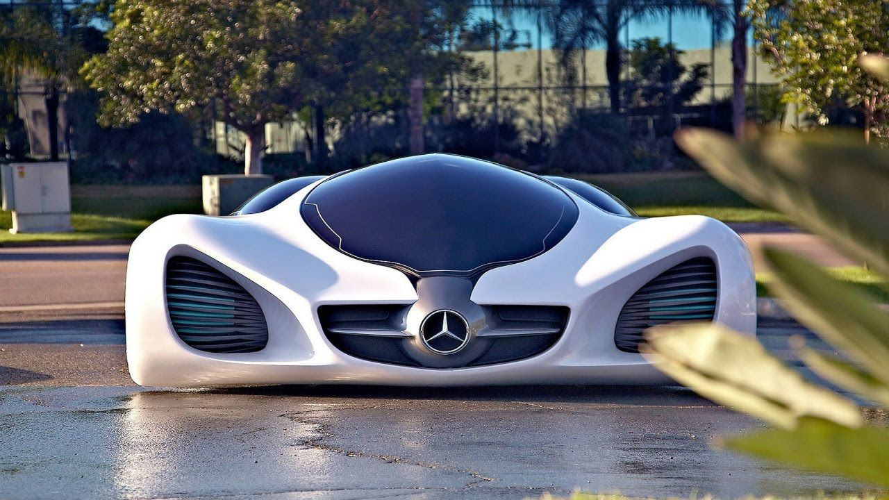 10 Coolest Cars You Will See In The Near Future Everyone Loves A Look Into The Future Of Mercedes Benz Biome Future Concept Cars Futuristic Cars