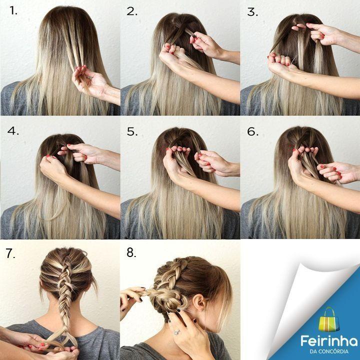 Nada melhor do que mexerem em nosso cabelo, e se for para fazer um hairstyle melhor ainda! Segue a dica dessa trança para arrasarem!   #ficaadica #melhorfeirinhadobrás #hairstyle
