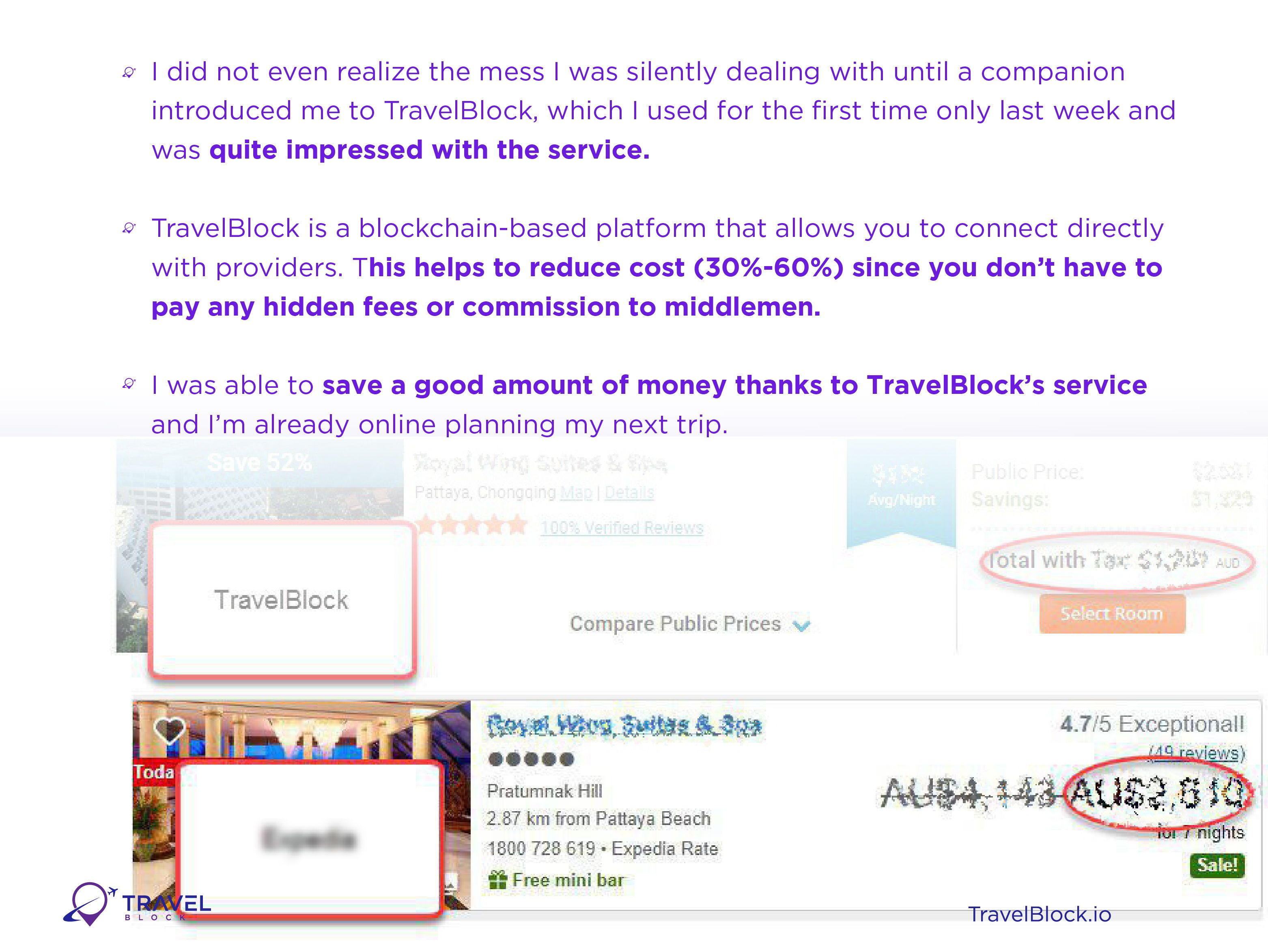 TravelBlock io  Check how TravelBlock provided me with a solution to