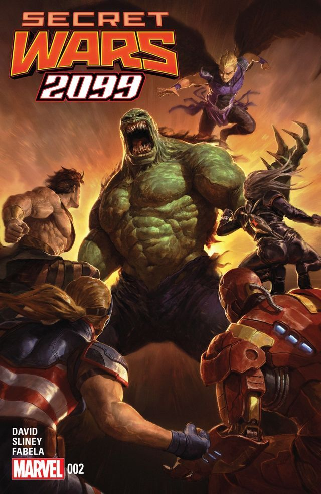 Secret Wars 2099 2015 2 Of 5 Guerras Marvel Universe Hulk
