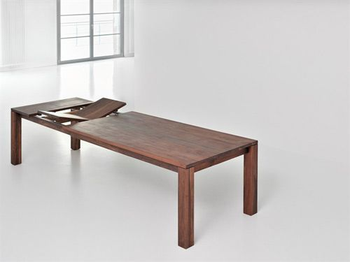 A table that's ready for anything - Living is a solid wood extending dining  table by
