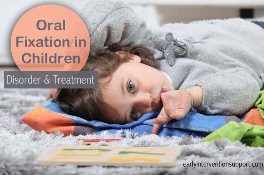 Adults oral for fixation treatment What Is