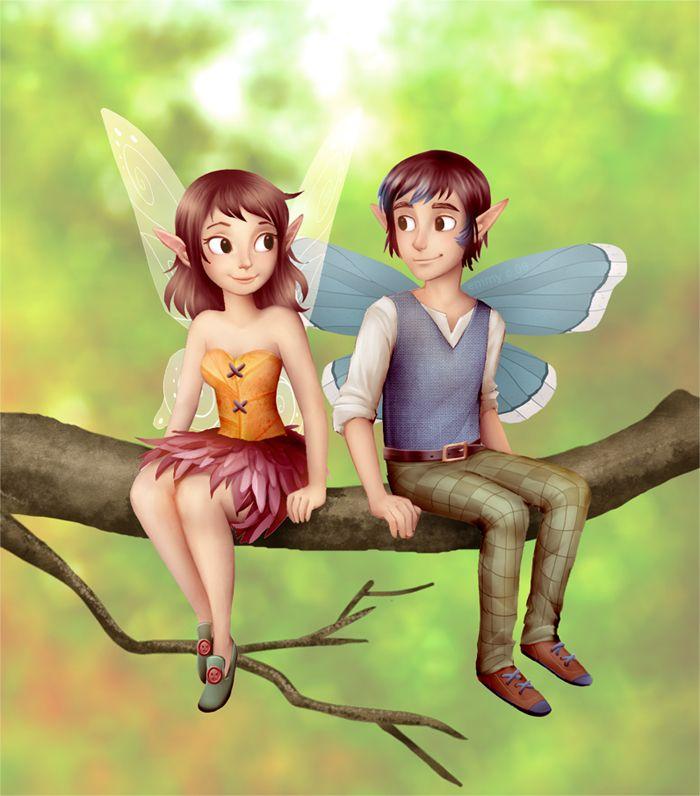Fairy Buddies by B1nd1 on DeviantArt