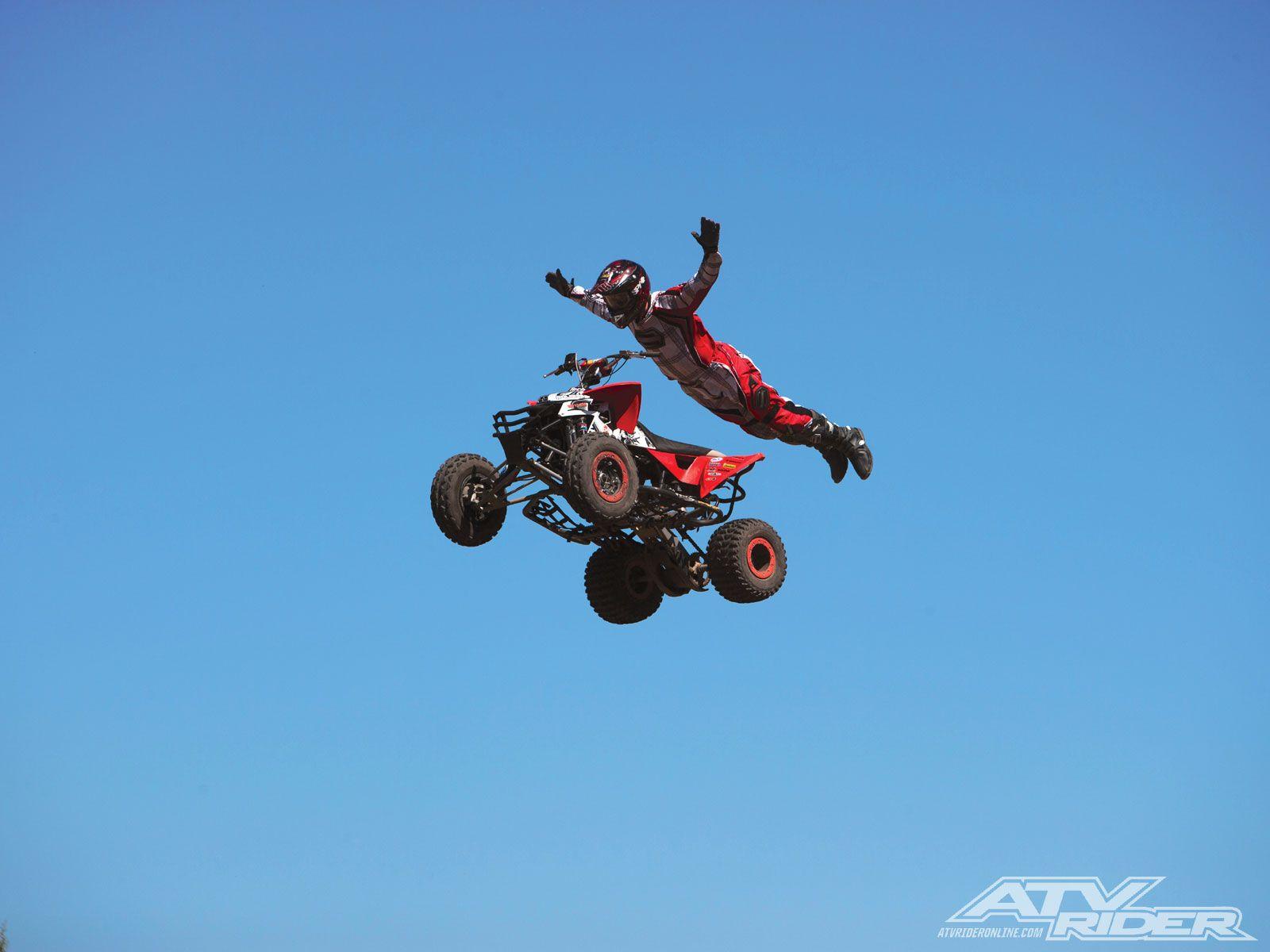 Atv Jumping Atv Motocross Atv Quads Yamaha Raptor 700