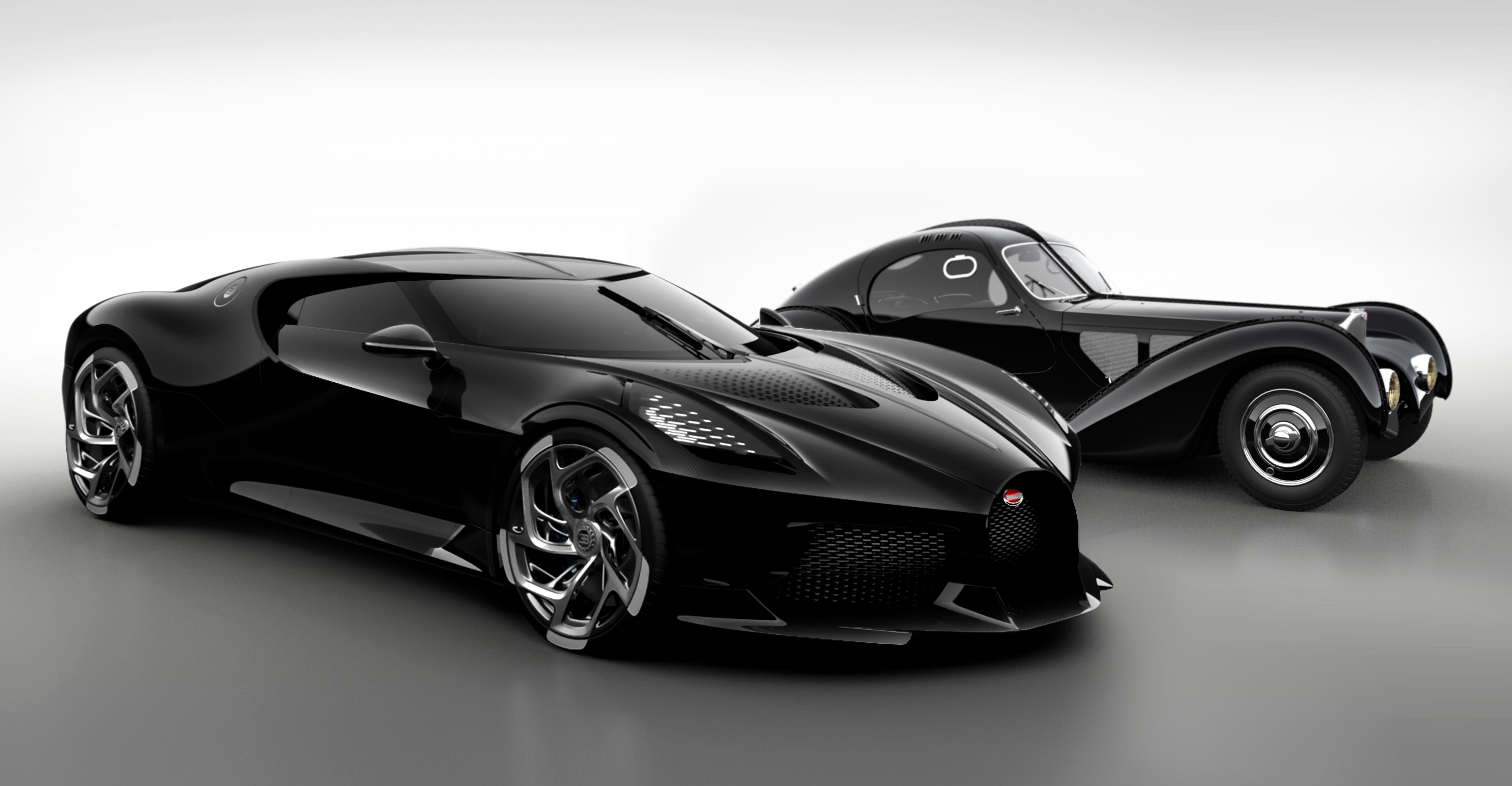 Bugatti S La Voiture Noire Is The Most Expensive New Car Ever Built Classic Driver Magazine Black Car Bugatti New Cars