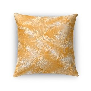 PALM CHEER ORANGE Accent Pillow by Kavka Designs