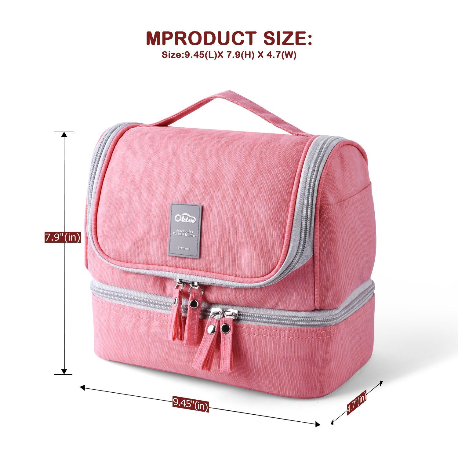 9d6c01e6a119 Designer Hanging Toiletry Bag Travel Cosmetics Bag by HANKCLES ...