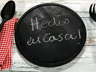 Manualidades y Artesanías   Pizarra para cocina   Utilisima.com