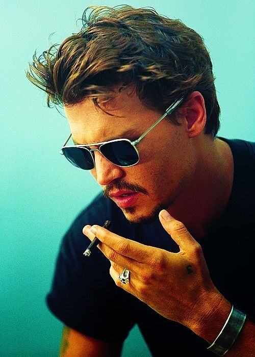 Johny DePP I Found This On Geek And Who Ever Pined It Put Johnny Deep But Mr Why Not Stop Smoking