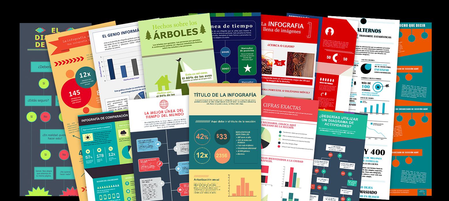 Diseña infografías fácilmente usando PowerPoint o Illustrator gracia ...