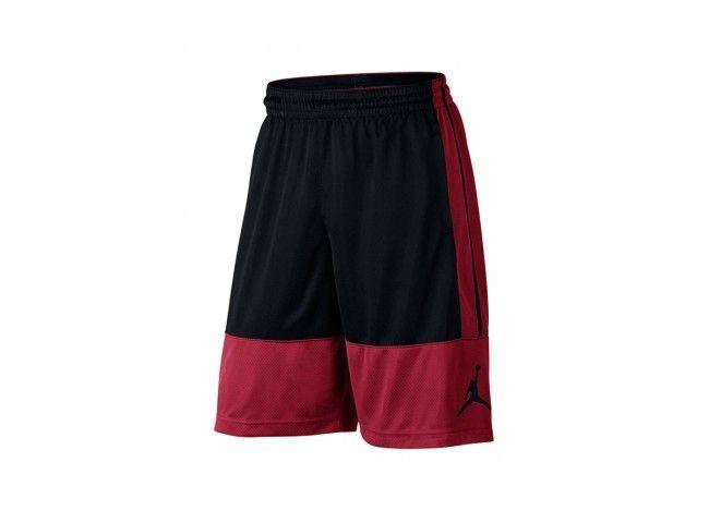 pantalon corto jordan rise solid rojo 1