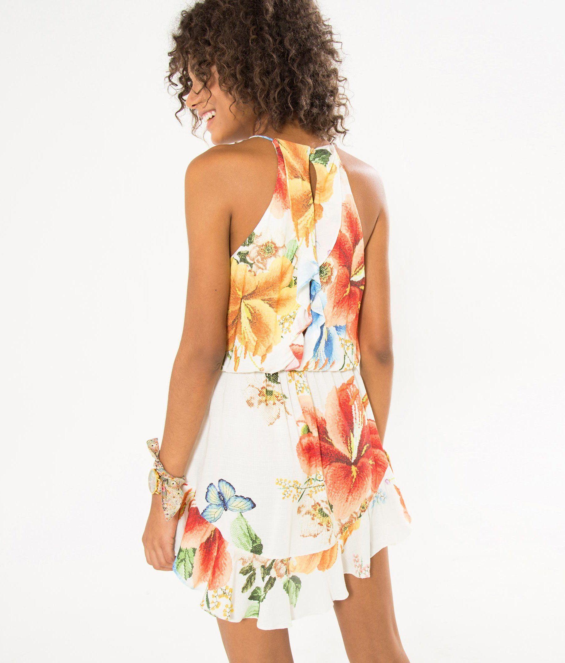 9f0d61ad5 vestido curto maxi colombiana off   Moda   Vestidos, Vestidos ...