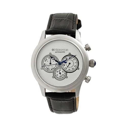 Men's Heritor Automatic HR3101 Earnhardt Watch Black //Blue