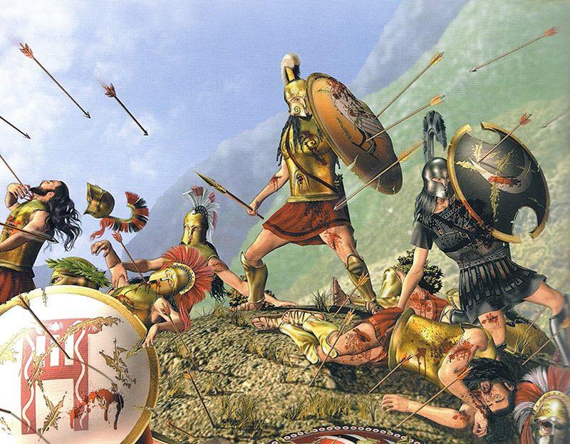 """Battle of Thermopylae 480 BC"" | History. | Pinterest ..."