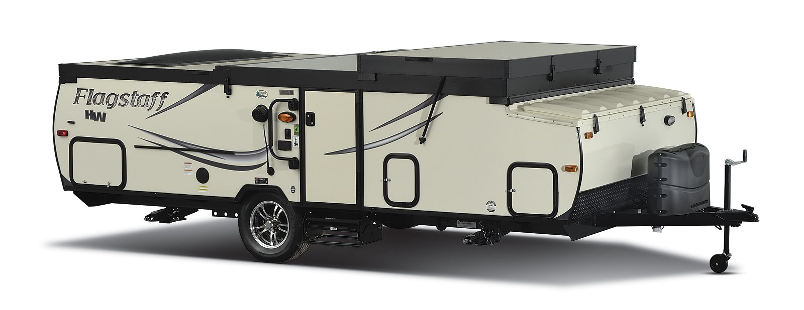 Flagstaff Hard Side Pop Up Campers Folding Camping Trailers By