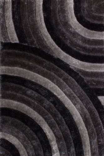 Teppich Wohnzimmer Carpet Modernes Design Hochflor Langflor RUG